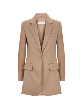 Camel Tailored Jacket by Max Mara