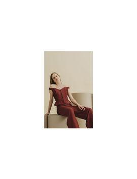 Sakari Corset Bardot Top by Whistles