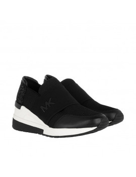 Felix Trainer Mesh Sneaker Black by Michael Kors