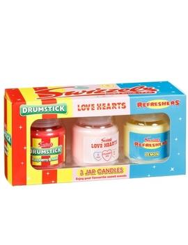 Swizzels Candle Gift Set 3pk by B&M