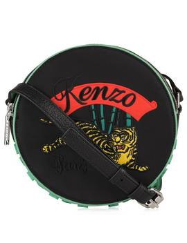 Tiger Round Cross Body Bag by Kenzo