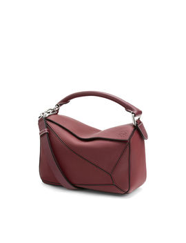 Puzzle Small Bag 				 				 				 				 				 				 				Wine by Loewe