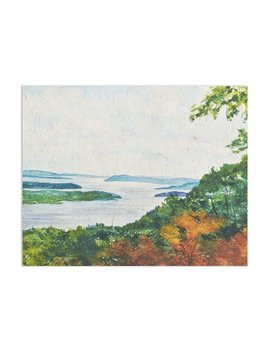 'hudson River' Painting Print On Canvas by Joss & Main