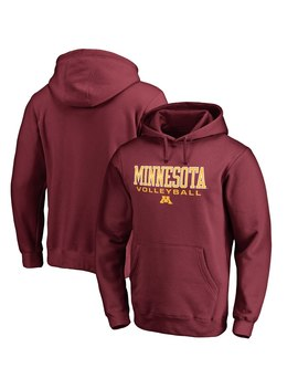 Minnesota Golden Gophers Fanatics Branded True Sport Volleyball Pullover Hoodie   Garnet by Fanatics Branded