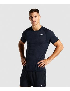Geo Lightweight Seamless T Shirt by Gymshark