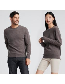 The Essential $75 Cashmere Sweater Heathered Brown by Naadam