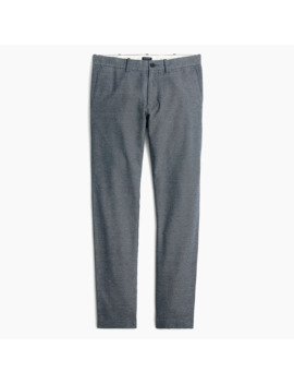 Slim Fit Pant In Brushed Twill by J.Crew