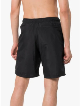 Black Knee Length Swimming Shorts by Givenchy