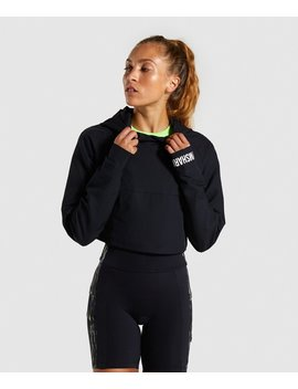 Non Stop Cropped Hoodie by Gymshark