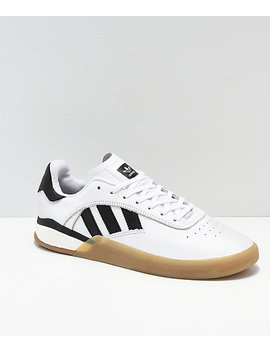 Adidas 3 St.004 White, Black & Gum Shoes by Adidas