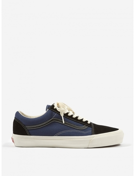 Vault Og Old Skool Lx   Black/Insignia Blue by Vans