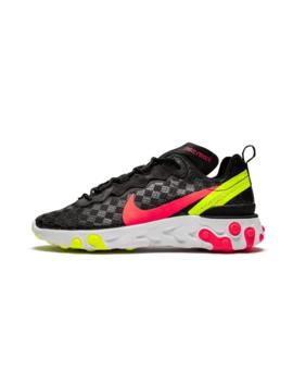 "React Element 55 ""Black   Flash Crimson"" by Nike"