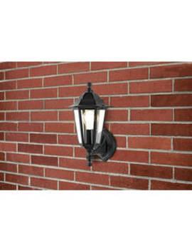 Argos Home Black Outdoor Lantern by Argos