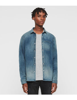 Imcro Denim Shirt by Allsaints