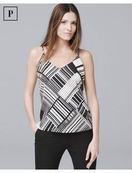 Petite Reversible Woven Cami by Whbm