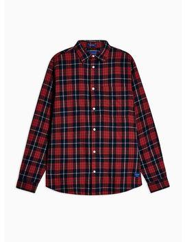 Jack & Jones Red Check Slim Shirt by Topman