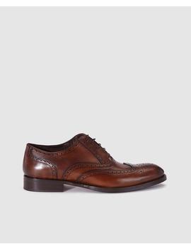 Sapatos Clássicos De Homem Roberto Ley Em Pele Pretos by Roberto Ley