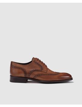 Sapatos Clássicos De Homem Luis Gonzalo Em Pele Castanhos by Luis Gonzalo