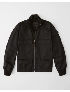 Utility Bomber Jacket by Abercrombie & Fitch