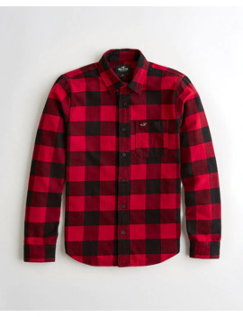 Flannel Shirt by Hollister
