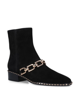 Leather Chain Lenny Ankle Boots 35 by Stella Luna