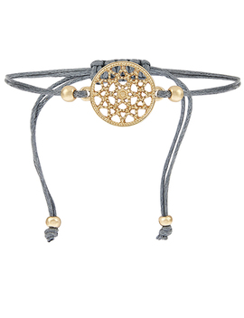 Filigree Disc Friendship Bracelet by Accessorize