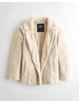 Sherpa Coat by Hollister