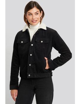 Sana Sherpa Jacket Black by Dr Denim