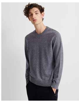 Cashmere Mouline Crew by Club Monaco