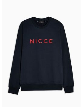Nicce Navy Lithium Sweatshirt by Topman