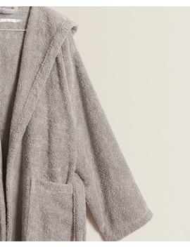 Premium Quality Cotton Bathrobe  Bathrobes   Bathroom by Zara Home