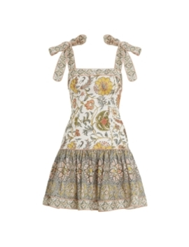 Edie Tie Mini Dress by Zimmermann