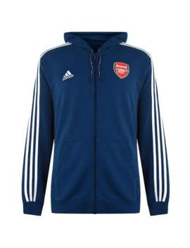 Arsenal Full Zip Hoodie by Adidas