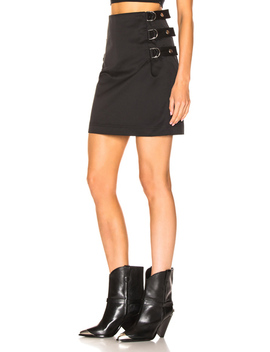 Buckled Skirt by Helmut Lang
