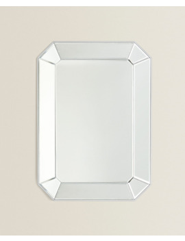 Octagonal Mirror  Mirrors   Living Room by Zara Home