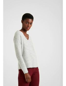 Pcella V Neck   Jumper by Pieces Tall
