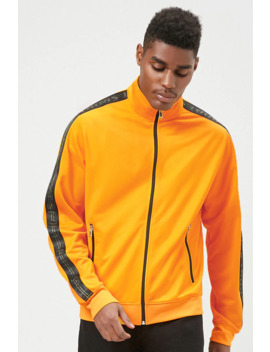 Sport Graphic Track Jacket by Forever 21