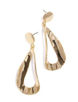 Halia Earring   Gold by Miss Lola