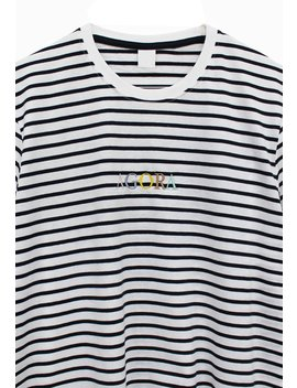 Garamond Striped Tee Garamond Striped Tee by Agora