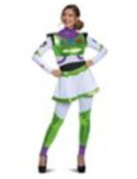 Adult Buzz Lightyear Jumpsuit Costume    Toy Story 4 by Spirit Halloween