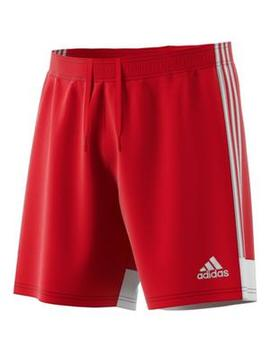 Adidas Men's Tastigo 19 Red/White Training Shorts by Hibbett