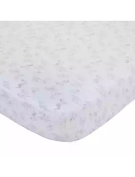 Disney® Classic A Day With Pooh Fitted Crib Sheet by Bed Bath And Beyond