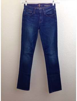 Seven Straight Leg Denim Jeans Size 24 by 7 For All Mankind