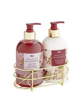 Soap &Amp; Lotion Caddy by Frosted Cranberries Collection