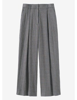Tattersall Check Trousers by Toast