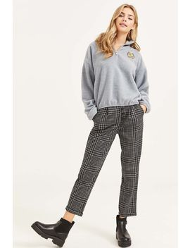 Plaid Buttoned Pants by Ardene