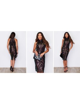 Leilani Full Sequined Dress by Girl In Mind