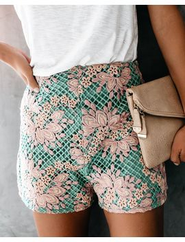 Happily Ever After Crochet Shorts   Final Sale by Vici
