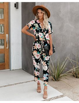 Next Level Pocketed Floral Jumpsuit   Final Sale by Vici
