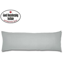 Non Iron Willow Large Bolster Pillowcase by Dunelm